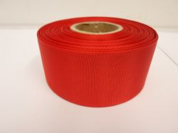 Poppy bright Red Grosgrain ribbon, 2 or 20 metres, Ribbed Double sided, 6mm 10mm 16mm 22mm 38mm